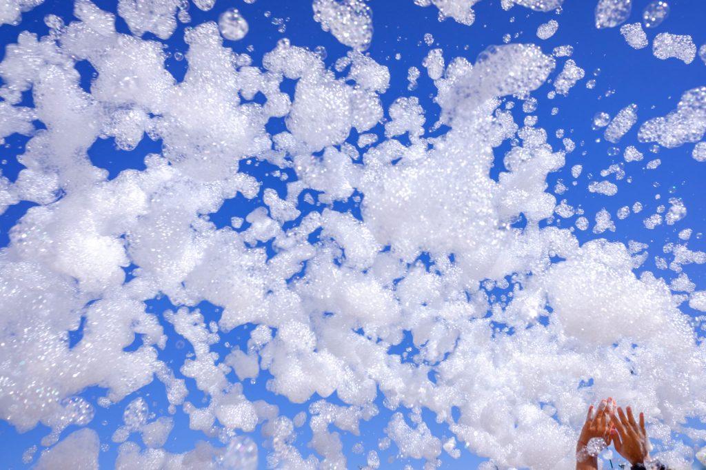 Foam Birthday Party in La Crescenta hosted by Roaring Foam